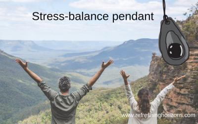 Stress Balance Pendant – bio-energetic support