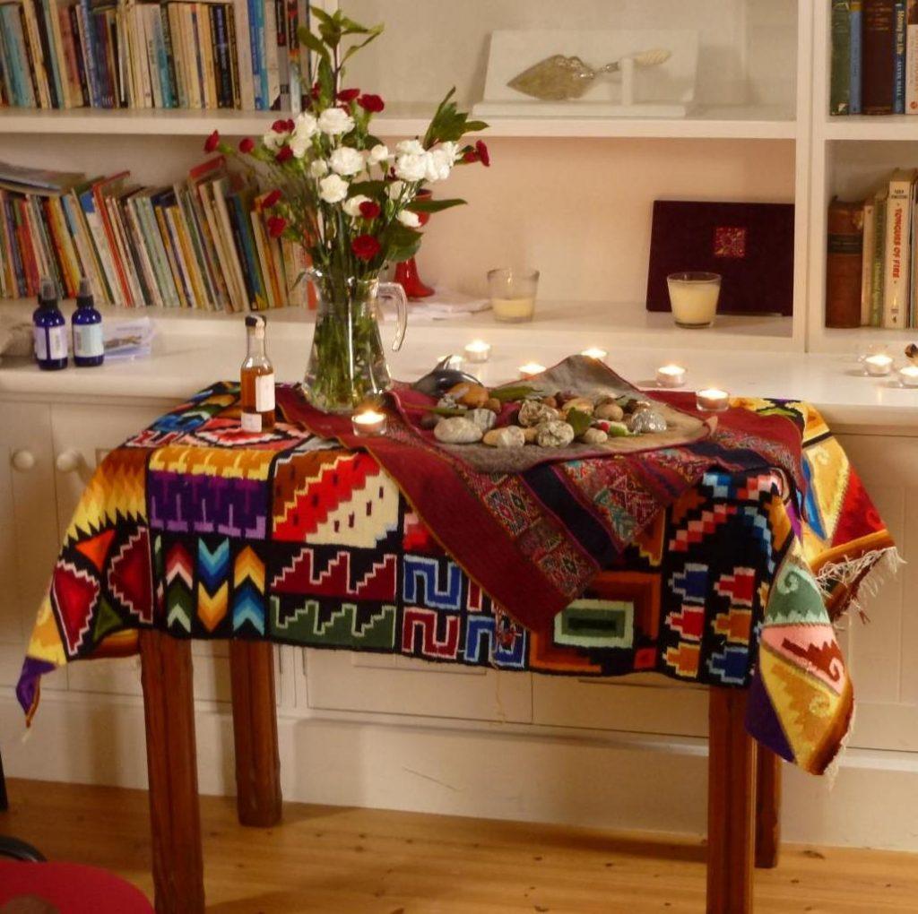 shamanic altar