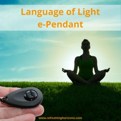 Language of Light e-Pendant