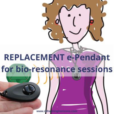 Replacement bio-resonance e-Pendant